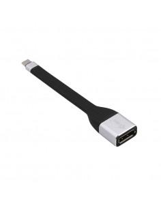 i-tec C31FLATDP60HZ videokaapeli-adapteri 0.11 m USB Type-C DisplayPort Musta I-tec Accessories C31FLATDP60HZ - 1