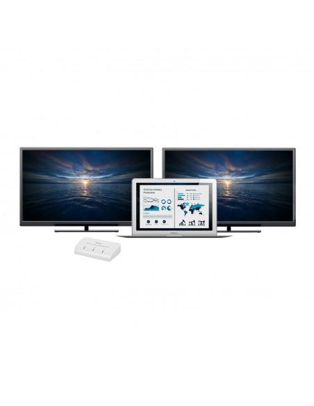 i-tec Advance U3DUALADA USB grafiikka-adapteri 2048 x 1152 pikseliä Valkoinen I-tec Accessories U3DUALADA - 6