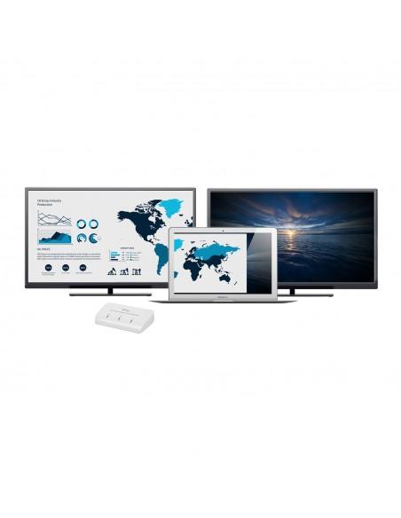 i-tec Advance U3DUALADA USB grafiikka-adapteri 2048 x 1152 pikseliä Valkoinen I-tec Accessories U3DUALADA - 8