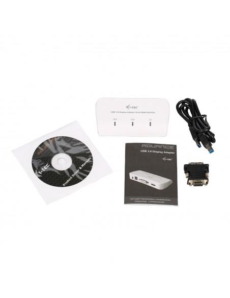 i-tec Advance U3DUALADA USB grafiikka-adapteri 2048 x 1152 pikseliä Valkoinen I-tec Accessories U3DUALADA - 9