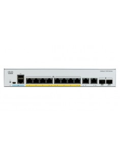 Cisco Catalyst C1000-8P-E-2G-L network switch Managed L2 Gigabit Ethernet (10/100/1000) Power over (PoE) Grey Cisco C1000-8P-E-2