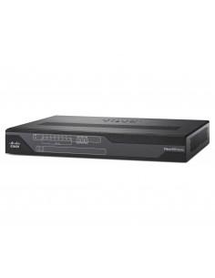 Cisco 892FSP langallinen reititin Gigabitti Ethernet Musta Cisco C892FSP-K9 - 1