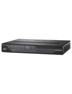 Cisco C897VAW-E-K9 langaton reititin Gigabitti Ethernet Kaksitaajuus (2,4 GHz/5 GHz) Musta Cisco C897VAW-E-K9 - 1