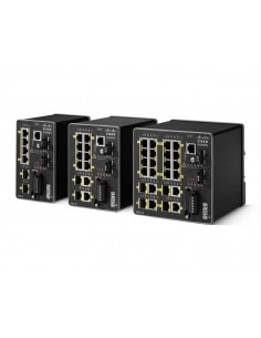Cisco IE-2000U-4TS-G nätverksswitchar hanterad Fast Ethernet (10/100) Svart Cisco IE-2000U-4TS-G - 1