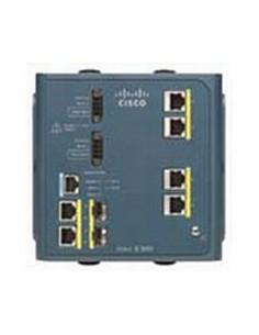 Cisco IE-3000-4TC verkkokytkin Hallittu L2 Fast Ethernet (10/100) Sininen Cisco IE-3000-4TC - 1