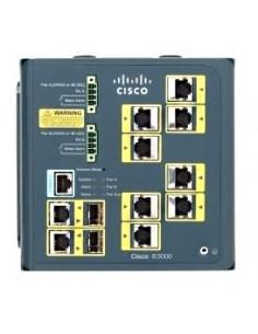 Cisco IE-3000-8TC verkkokytkin Hallittu L2 Fast Ethernet (10/100) Sininen Cisco IE-3000-8TC - 1