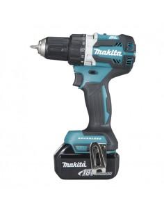 Makita DDF484RTJ drill Keyless 1.6 kg Black, Blue Makita DDF484RTJ - 1