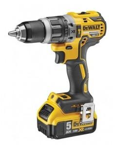 DeWALT DCD796P2-QW borr utan nyckel 1.8 kg Svart, Gul Dewalt DCD796P2-QW - 1