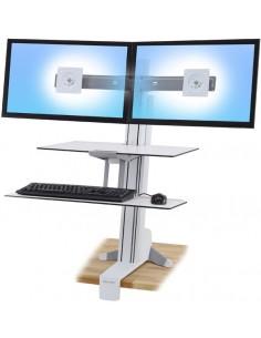 Ergotron WorkFit-S Vit PC Multimediastativ Ergotron 33-349-211 - 1