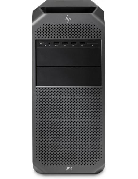 HP Z4 G4 W-2123 Tower Intel® Xeon W 32 GB DDR4-SDRAM 512 SSD Windows 10 Pro for Workstations Työasema Musta Hp 6QN91EA#UUW - 1