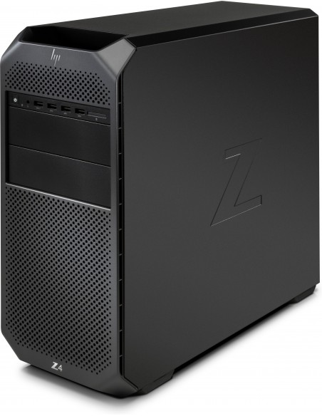 HP Z4 G4 W-2123 Tower Intel® Xeon W 32 GB DDR4-SDRAM 512 SSD Windows 10 Pro for Workstations Työasema Musta Hp 6QN93EA#UUW - 2