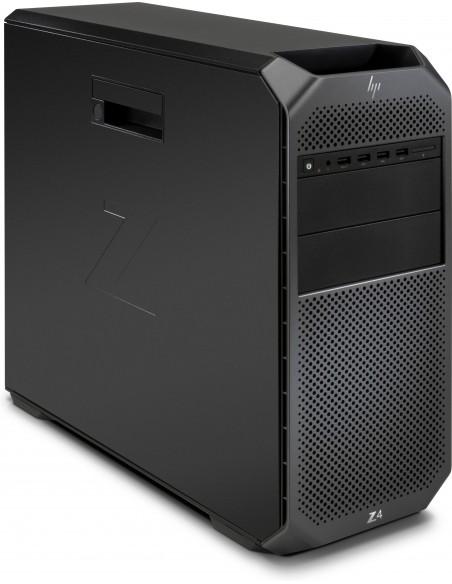 HP Z4 G4 W-2123 Tower Intel® Xeon W 32 GB DDR4-SDRAM 512 SSD Windows 10 Pro for Workstations Työasema Musta Hp 6QN93EA#UUW - 3