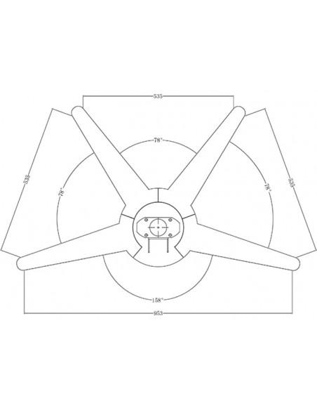 """Multibrackets 5378 kyltin näyttökiinnike 139.7 cm (55"""") Hopea Multibrackets 7350022735378 - 8"""