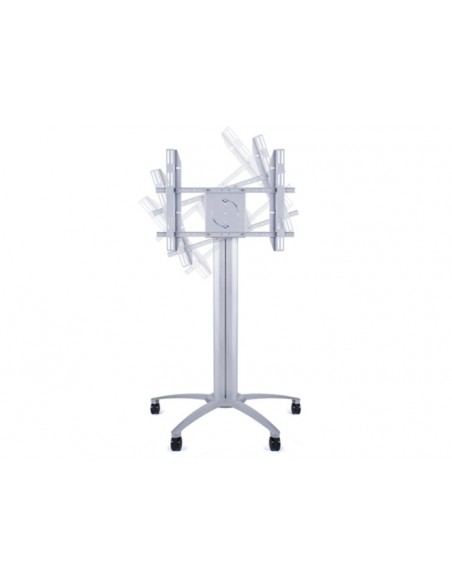 Multibrackets M Public Display Stand 145 Single Silver Multibrackets 7350022735385 - 4