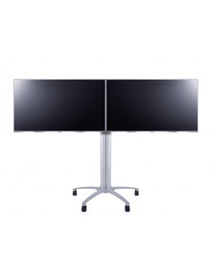 Multibrackets M Public Display Stand 145 Dual Silver Multibrackets 7350022735392 - 1