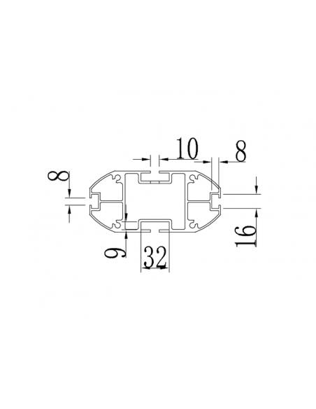 """Multibrackets 5408 kyltin näyttökiinnike 160 cm (63"""") Hopea Multibrackets 7350022735408 - 8"""