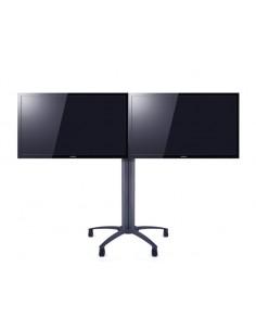 Multibrackets M Public Display Stand 145 Dual Black Multibrackets 7350022736276 - 1