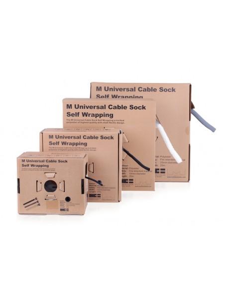 Multibrackets 3217 kaapelinjärjestäjä Kaapelisukka Musta 1 kpl Multibrackets 7350073733217 - 8