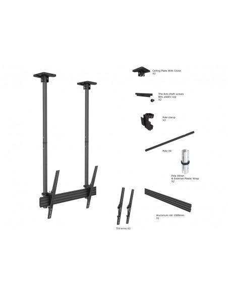 Multibrackets M Ceiling Mount Pro MBC1USD Multibrackets 7350073735785 - 6