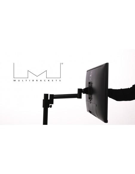 """Multibrackets 5839 monitorin kiinnike ja jalusta 76.2 cm (30"""") Puristin/Läpipultattu Musta Multibrackets 7350073735839 - 7"""