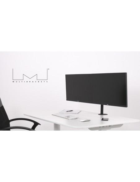 """Multibrackets 5853 monitorin kiinnike ja jalusta 76.2 cm (30"""") Puristin/Läpipultattu Musta Multibrackets 7350073735853 - 7"""