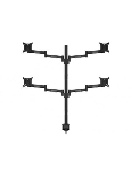 """Multibrackets 5891 monitorin kiinnike ja jalusta 76.2 cm (30"""") Puristin/Läpipultattu Musta Multibrackets 7350073735891 - 2"""