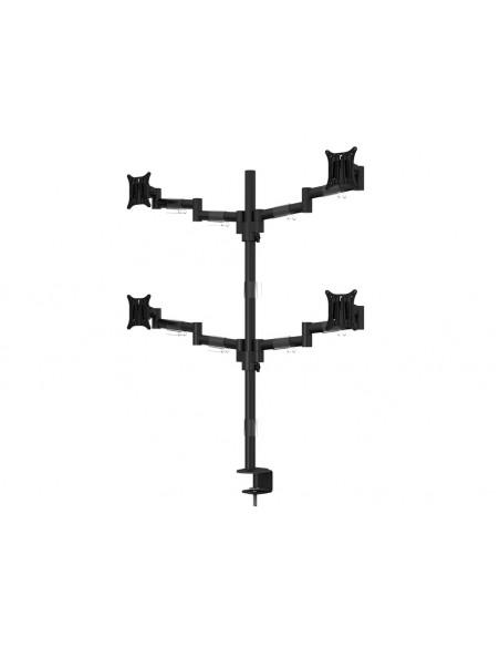 """Multibrackets 5891 monitorin kiinnike ja jalusta 76.2 cm (30"""") Puristin/Läpipultattu Musta Multibrackets 7350073735891 - 3"""