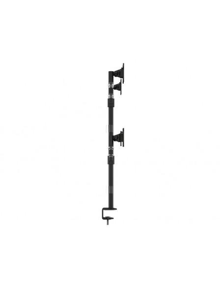 """Multibrackets 5891 monitorin kiinnike ja jalusta 76.2 cm (30"""") Puristin/Läpipultattu Musta Multibrackets 7350073735891 - 5"""