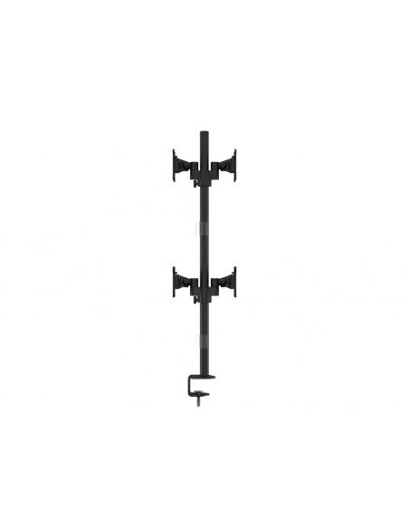 """Multibrackets 5907 monitorin kiinnike ja jalusta 76.2 cm (30"""") Puristin/Läpipultattu Musta Multibrackets 7350073735907 - 5"""