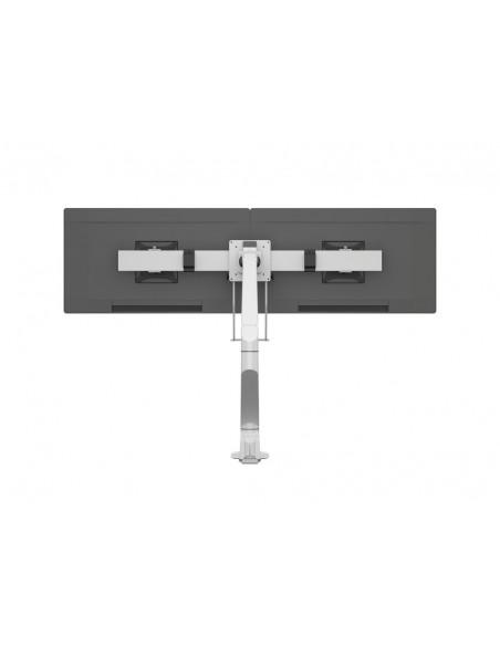 Multibrackets M VESA Gas Lift Arm Single White w. Duo Crossbar Multibrackets 7350073735945 - 7