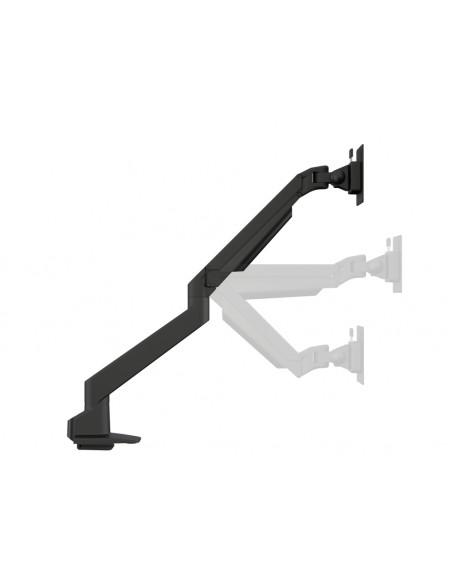 Multibrackets M VESA Gas Lift Arm Single White w. Duo Crossbar Multibrackets 7350073735945 - 9