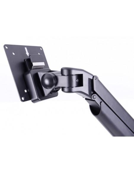 Multibrackets M VESA Gas Lift Arm Single White w. Duo Crossbar Multibrackets 7350073735945 - 15