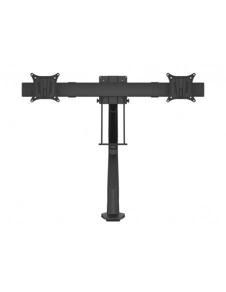 Multibrackets M VESA Gas Lift Arm Single Black HD w. Duo Crossbar Multibrackets 7350073735952 - 2