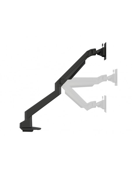 Multibrackets M VESA Gas Lift Arm Single Black HD w. Duo Crossbar Multibrackets 7350073735952 - 9