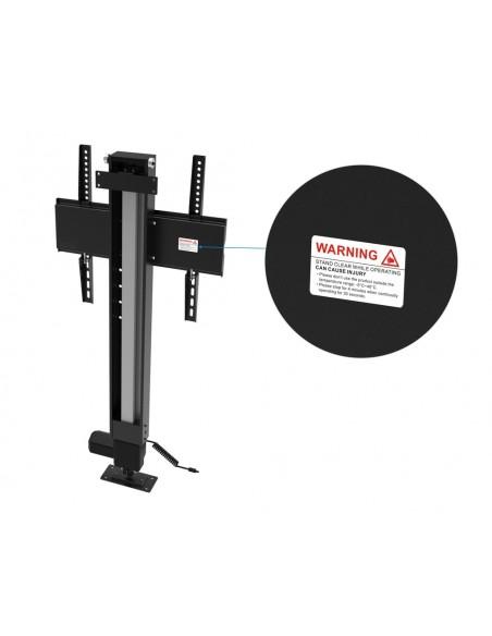 """Multibrackets 5976 TV-kiinnike 124.5 cm (49"""") Musta Multibrackets 7350073735976 - 7"""