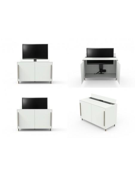 """Multibrackets 5976 TV-kiinnike 124.5 cm (49"""") Musta Multibrackets 7350073735976 - 11"""
