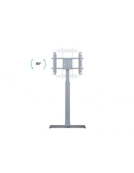 Multibrackets M Motorized Display Stand Floorbase Silver Multibrackets 7350073736041 - 19