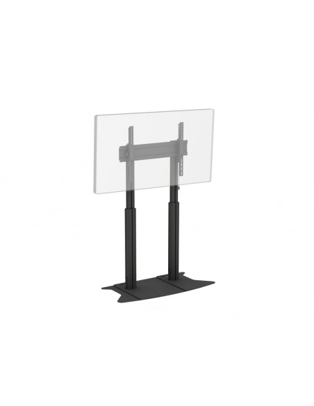 Multibrackets M Motorized Display Stand Dual Pillar Floorbase Black Multibrackets 7350073736072 - 7