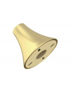 Multibrackets M Pro Series - Floor To Ceiling Wall Plate Brass Multibrackets 7350073736195 - 1