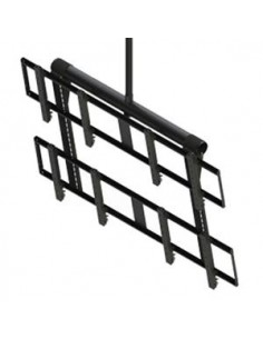 "Peerless DS-VWT955-2X2 signage display mount 139.7 cm (55"") Black Peerless DS-VWT955-2X2 - 1"