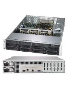 Supermicro A+ Server 2013S-C0R Intel SoC Socket SP3 Rack (2U) Black Supermicro AS-2013S-C0R - 1