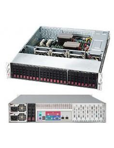 Supermicro 216BAC-R920LPB Teline Musta 920 W Supermicro CSE-216BAC-R920LPB - 1