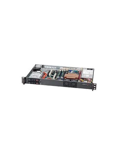 Supermicro CSE-510T-200B tietokonekotelo Musta 200 W Supermicro CSE-510T-200B - 1
