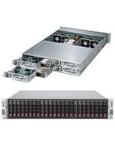 Supermicro SuperServer 2028TP-HTR Intel® C612 LGA 2011 (Socket R) Teline ( 2U ) Musta Supermicro SYS-2028TP-HTR - 1