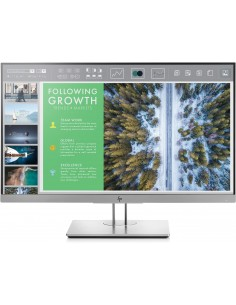 "HP EliteDisplay E243 60.5 cm (23.8"") 1920 x 1080 pikseliä Full HD LED Musta, Hopea Hp 1FH47AA#ABB - 1"