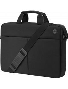 """HP Prelude Top Load laukku kannettavalle tietokoneelle 39.6 cm (15.6"""") Salkku Musta Hp 2MW62AA - 1"""