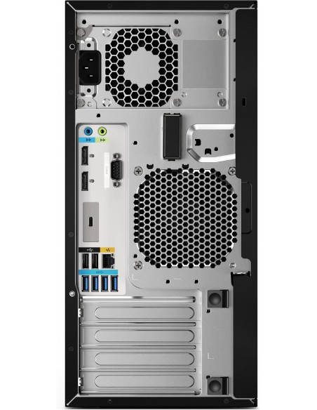 HP Z2 G4 9. sukupolven Intel® Core™ i7 i7-9700K 16 GB DDR4-SDRAM 256 SSD Tower Musta Työasema Windows 10 Pro Hp 6TW97EA#UUW - 4