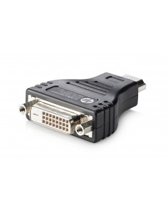 HP HDMI to DVI Adapter DVI-D Musta Hp F5A28AA - 1