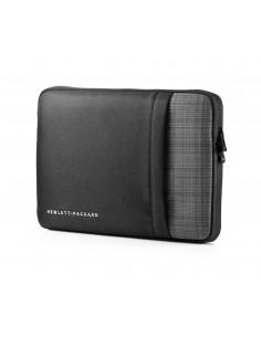 """HP UltraBook 12.5-inch Sleeve laukku kannettavalle tietokoneelle 31.8 cm (12.5"""") Suojakotelo Musta, Harmaa Hp F7Z98AA - 1"""