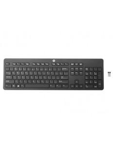 HP Wireless (Link-5) keyboard RF Black Hp T6U20AA#ABB - 1